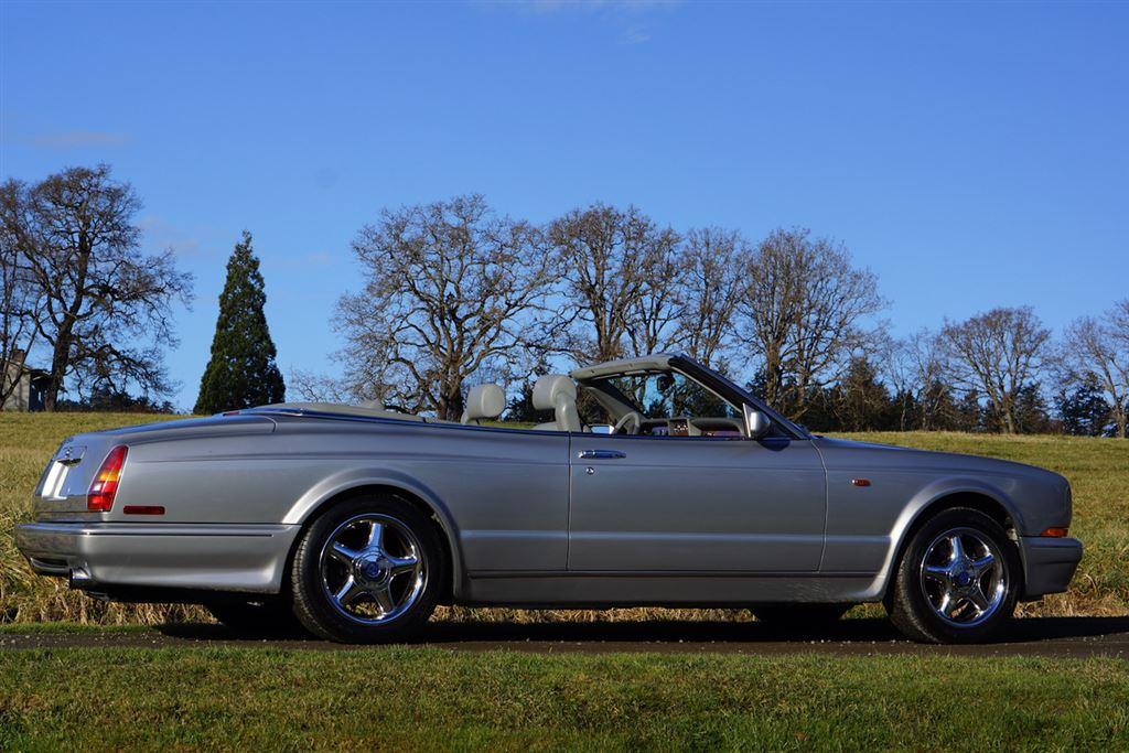 1999 Bentley Azure Convertible Silver Pearl RBM Cars